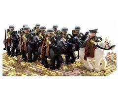 Минифигурки Военных Кавалерия Американской Армии серия 337
