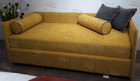 Кровать-софа Sontelle Аланд три спинки живое фото