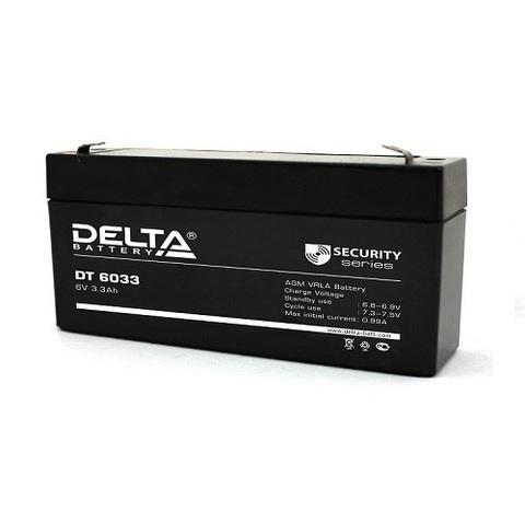 DT 6033 аккумулятор 6В/3.3Ач Delta
