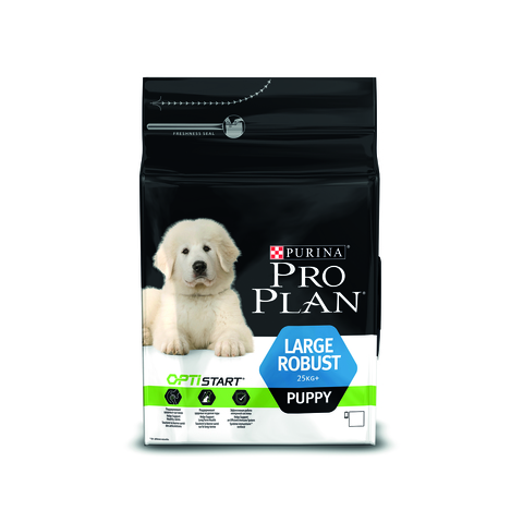 Pro plan large puppy robust with chicken & rice dog