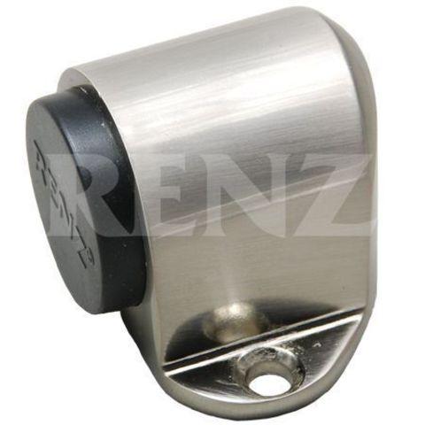 Фурнитура - Ограничитель Дверной напольный Renz DS 31, цвет никель матовый