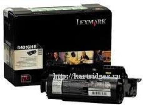 Картридж Lexmark 64016HE