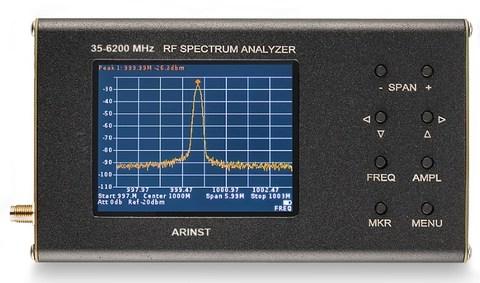Портативный анализатор спектра Arinst SSA Pro R2