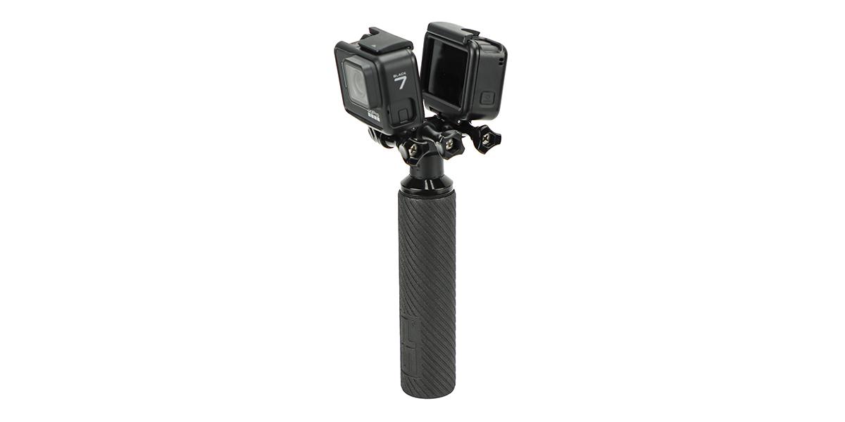 Крепление двойное SP Dual Mount с камерами вертикально