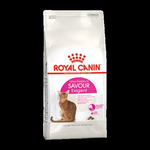 Royal Canin Exigent Savour Sensation Сухой корм для кошек, привередливых к вкусу корма 1-12 лет