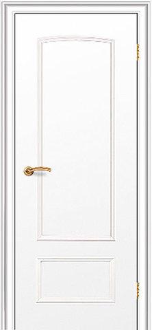 Дверь Краснодеревщик ДГ 201, цвет белый, глухая