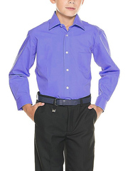 TH15-4 рубашка для мальчиков, сиреневая