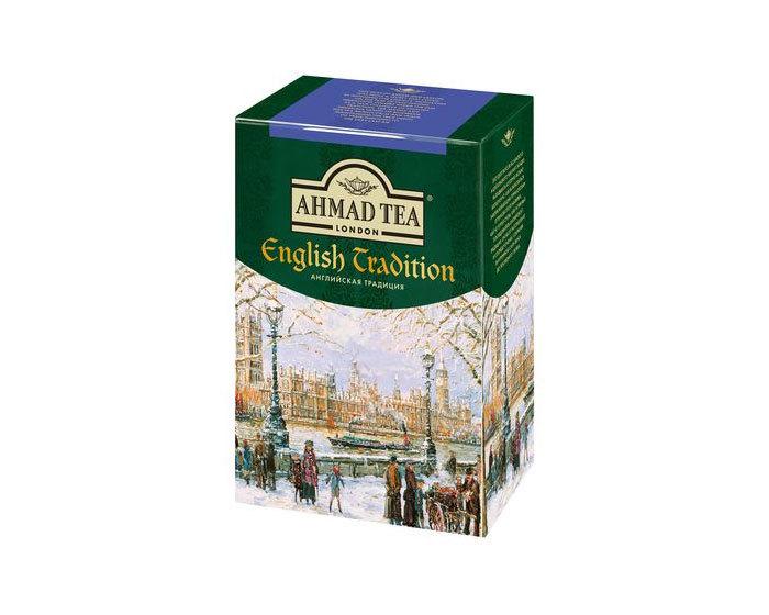 Чай черный листовой Ahmad Tea Английская традиция, 100 г (Ахмад)