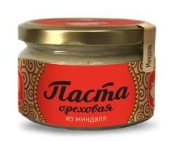 Паста ореховая, Сибирский Кедр, из обжаренных ядер миндаля, 250 г.