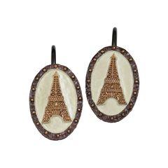 Набор из 12 крючков для шторки I Love Paris от Creative Bath