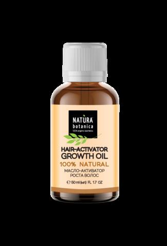 Масло для роста волос против выпадения 50 мл (Natura Botanica)