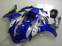 Комплект пластика для мотоцикла Yamaha YZF-R1 04-06 Синий (чёрный плуг)
