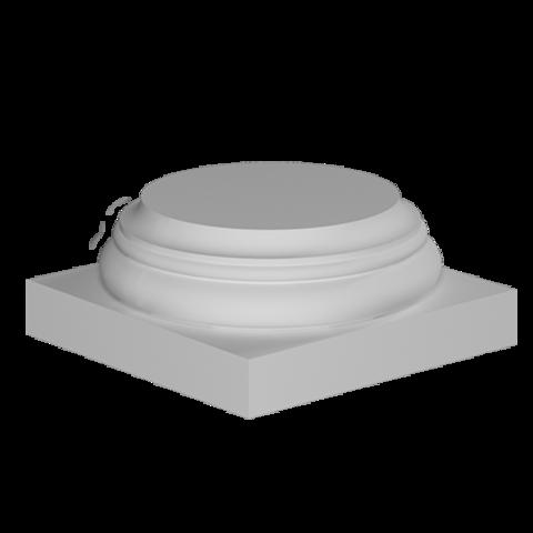 База (колонна) Европласт из полиуретана 4.13.001, интернет магазин Волео