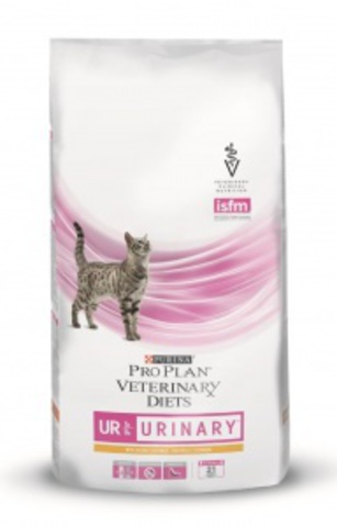 Purina UR Urinary Feline Лечебный корм Пурина Ветеринарная Диета Уринари для кошек Мочекаменная болезнь