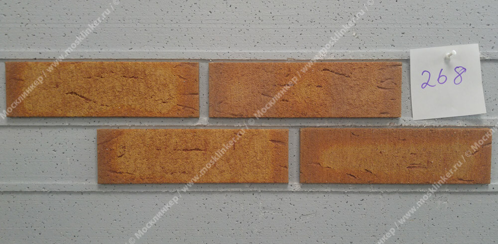 Feldhaus Klinker - R268NF9, Classic Nolani, 240x9x71 - Клинкерная плитка для фасада и внутренней отделки