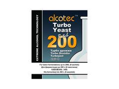 Спиртовые дрожжи Alcotec Batch 200, 86 г