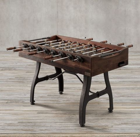Vintage Industrial Foosball Table