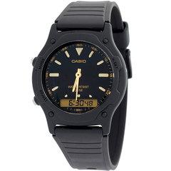 Мужские японские электронные наручные часы Casio AW-49HE-1АVDF
