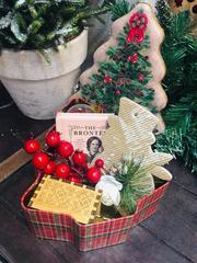 Yeni İl hədiyyə qutusu - Christmas box