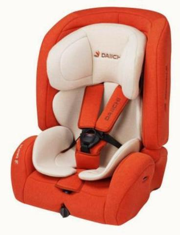 Детское автокресло DAIICHI D-Guard Toddler Organic Orange