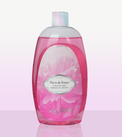 Liv-delano FLEURS DE FRANCE Пена для ванн Нежность пиона 730г