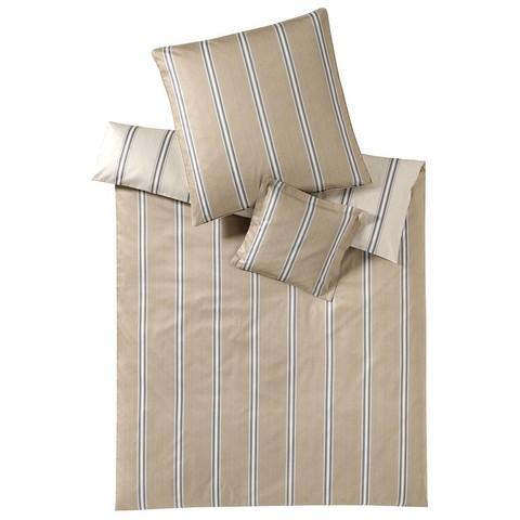 Постельное белье 1.5 спальное Elegante Cascade бежевое