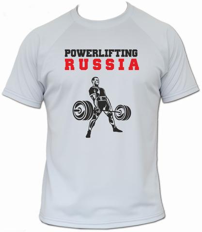 футболка пауэрлифтинг становая тяга
