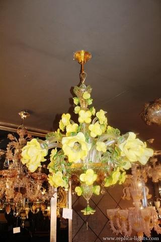 murano chandelier  ARTE DI MURANO 11-51 by Arlecchino Arts ( HK)