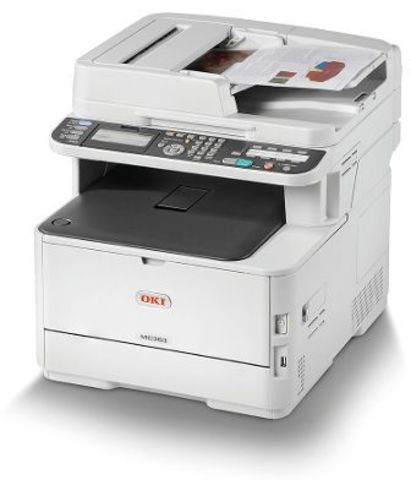 Цветное лазерное МФУ OKI MC363DNW - формат А4, 26 стр/ мин, разрешение 600 dpi, лоток 250 стр, сеть, Google Cloud Print 2.0, AirPrint 1.6 (46403512)