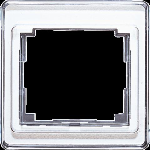 Рамка на 1 пост. Цвет Белый. JUNG SL. SL581WW