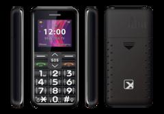 Мобильный телефон Texet TM-101 (Black) на запчасти