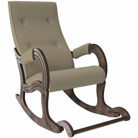 Кресло-качалка Комфорт Модель 707 орех антик/Montana 904, 013.707