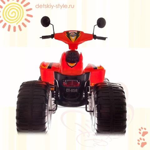 Квадроцикл CT-658 Jet Runner Big Beach Racer