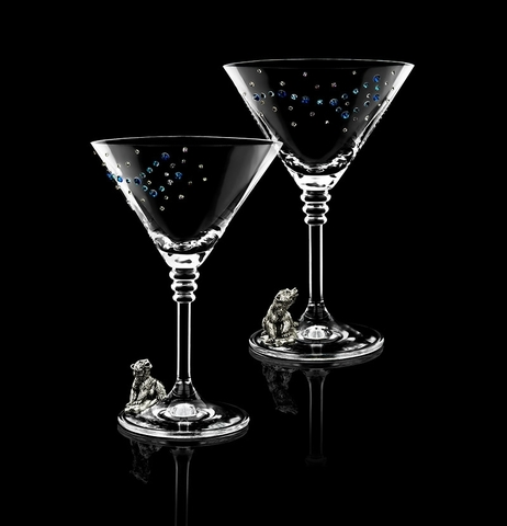 Подарочный набор бокалов для мартини «Большая медведица»