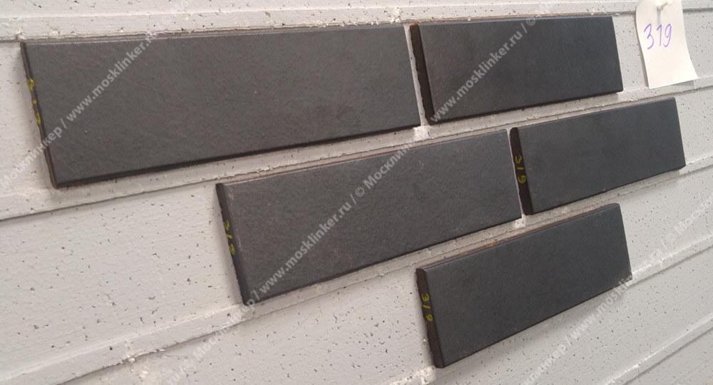 Stroeher - 319 royal, Keravette shine, glasiert, глазурованная, гладкая, 240x71x11 - Клинкерная плитка для фасада и внутренней отделки