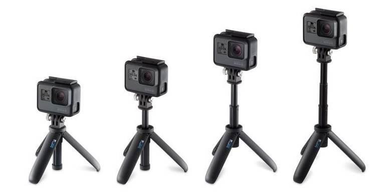 Мини монопод-штатив GoPro Shorty (AFTTM-001) варианты