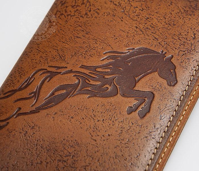 BY14-09-08 Оригинальная обложка для паспорта «Огненный Конь» фото 02