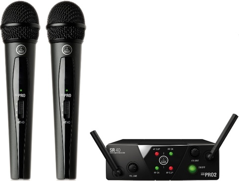 AKG WMS40 Mini2 Vocal Set BD US25A/B вокальная радиосистема