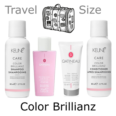 Дорожный набор Gatineau / Keune CARE Color Brillianz