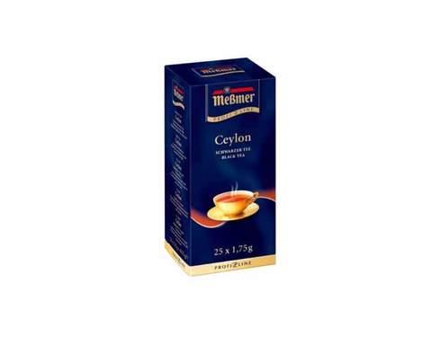 Чай черный в пакетиках Messmer Цейлон, 25 пак/уп, 1,75 г
