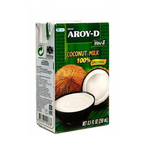 Кокосовое молоко AROY-D 60% Tetra Pak