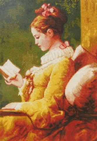 8113-03 Девушка с книгой (большая модель)
