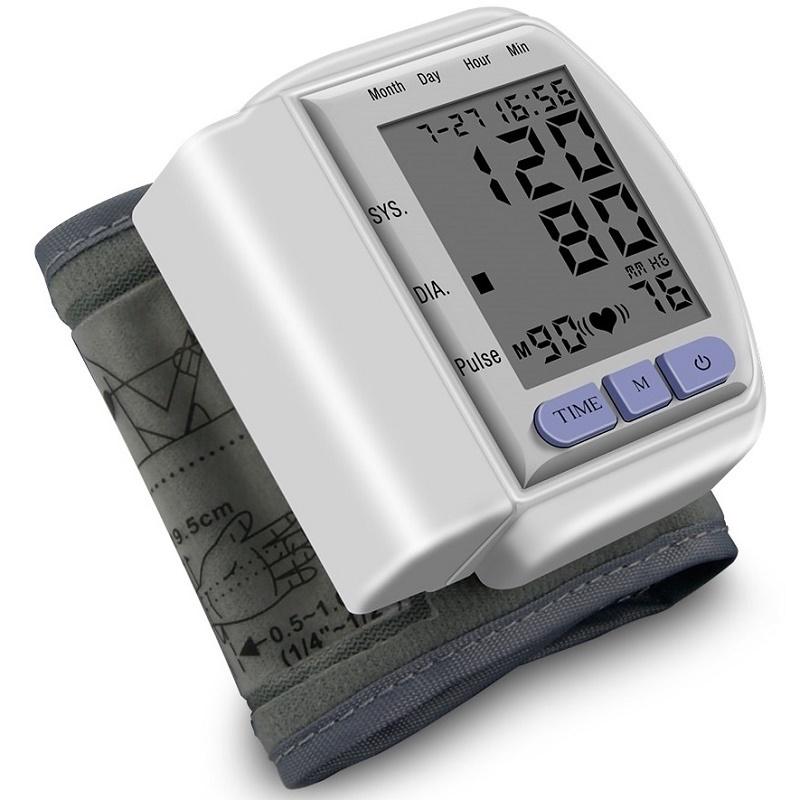 Новинки Тонометр на запястье Blood Pressure Monitor CK-102s BLOOD_PRESSURE_MONITOR_CK-102S.jpg