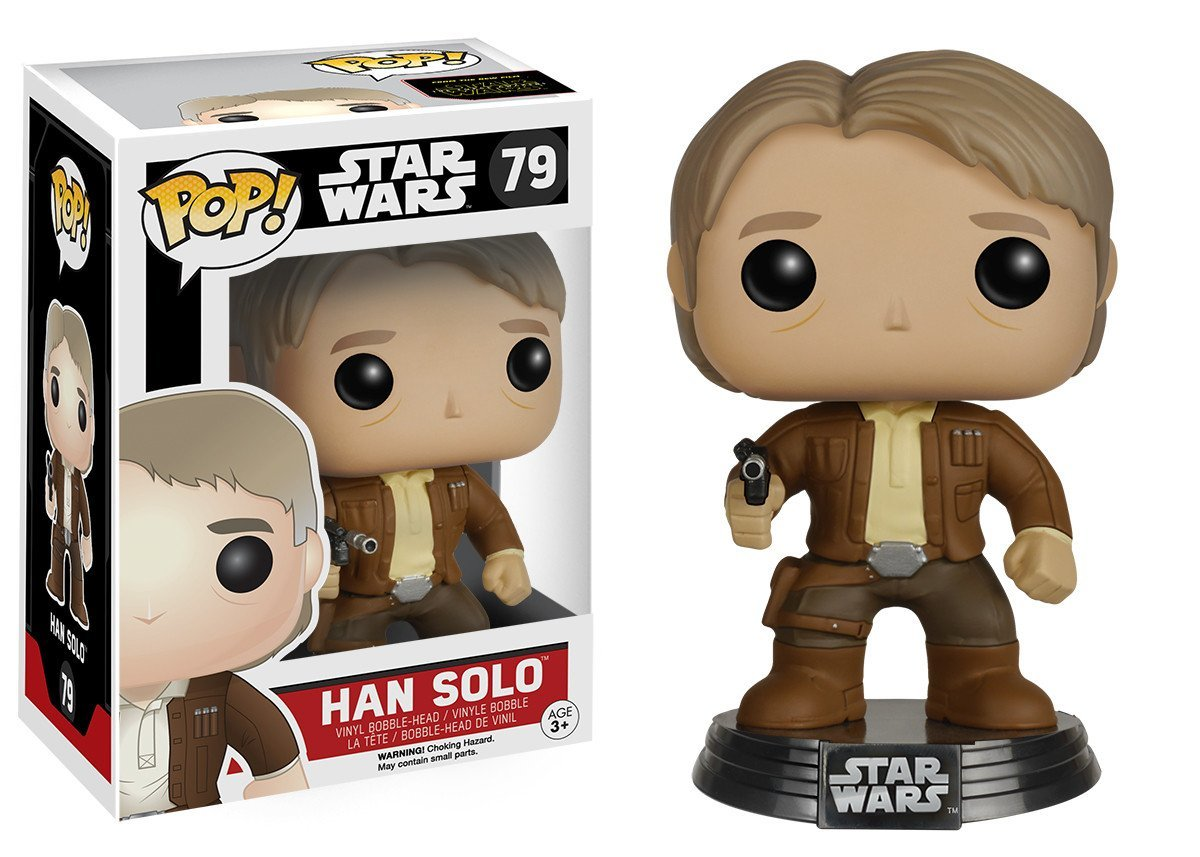 Фигурка Funko POP! Bobble: Star Wars: E7 TFA: Han Solo (POP 15) 6584