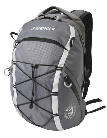Рюкзак WENGER для активного отдыха, цвет серый, 47x28x19 см, 25 л. (30534499) - Wenger-Victorinox.Ru