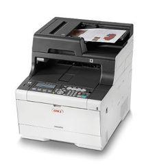 Цветное лазерное МФУ OKI MC563DN - формат А4, 30 стр/ мин, разрешение 1200 dpi, лоток 250 стр, сеть. Опции: Wi-fi, Google Cloud Print 2.0, AirPrint 1.6 (46357132)