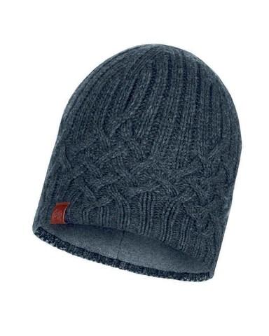 Вязаная шапка с флисовой подкладкой Buff Hat Knitted Polar Helle Graphite