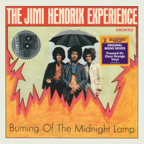 The Jimi Hendrix Experience / Burning Of The Midnight Lamp (Coloured Vinyl)(7