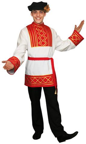 Русский народный костюм Ярослав красный