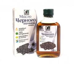 Масло черного тмина нерафинированное пищевое «Сибирское» 100 мл